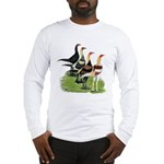 Modern Game Roosters Long Sleeve T-Shirt