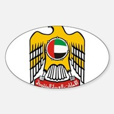 United Arab Emirates Coat Of Arms Sticker (Oval)