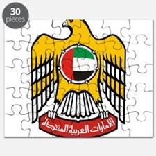 United Arab Emirates Coat Of Arms Puzzle