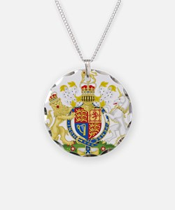 United Kingdom Coat Of Arms Necklace