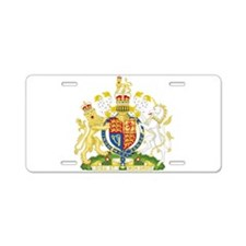 United Kingdom Coat Of Arms Aluminum License Plate