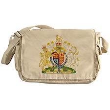 United Kingdom Coat Of Arms Messenger Bag