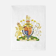 United Kingdom Coat Of Arms Twin Duvet