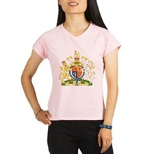 United Kingdom Coat Of Arms Performance Dry T-Shir