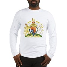 United Kingdom Coat Of Arms Long Sleeve T-Shirt