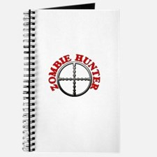 Zombie Hunter with Crosshairs Journal