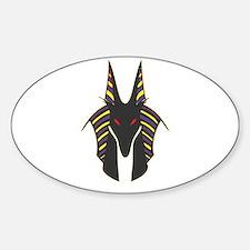 Anubis Sticker (Oval)