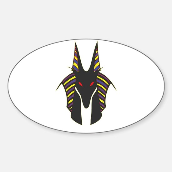 Anubis Sticker (Oval)