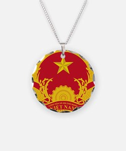 Vietnam Coat Of Arms Necklace