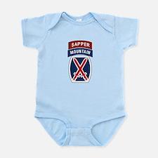 10th Mountain Sapper Infant Bodysuit