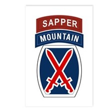 10th Mountain Sapper Postcards (Package of 8)