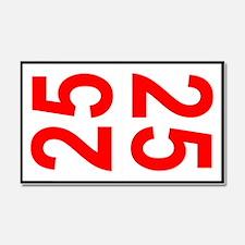 25 Autocross Number Plates Car Magnet 20 x 12