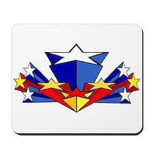 WW starburst Mousepad