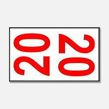 20 Autocross Number Plates Car Magnet 20 x 12