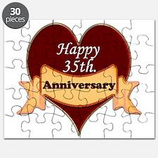 Unique 35th anniversary Puzzle