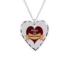 Unique Relationships Necklace Heart Charm