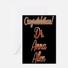 Congratulations 2 Greeting Card