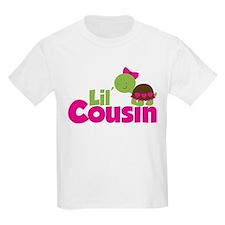 Girl Turtle Little Cousin T-Shirt