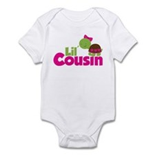 Girl Turtle Little Cousin Infant Bodysuit