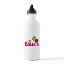 Girl Turtle Little Cousin Water Bottle