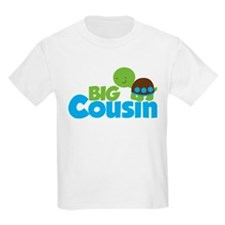 Boy Turtle Big Cousin T-Shirt