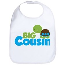Boy Turtle Big Cousin Bib
