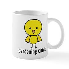 Gardening Chick Small Mug