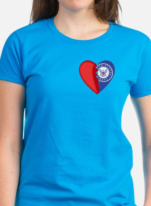 2-Sided Half My Heart Tee