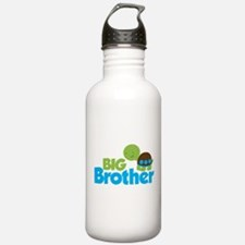 Boy Turtle Big Brother Sports Water Bottle