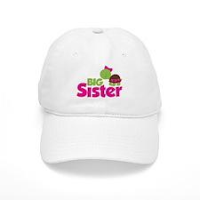 Girl Turtle Big Sister Baseball Cap