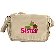 Girl Turtle Big Sister Messenger Bag