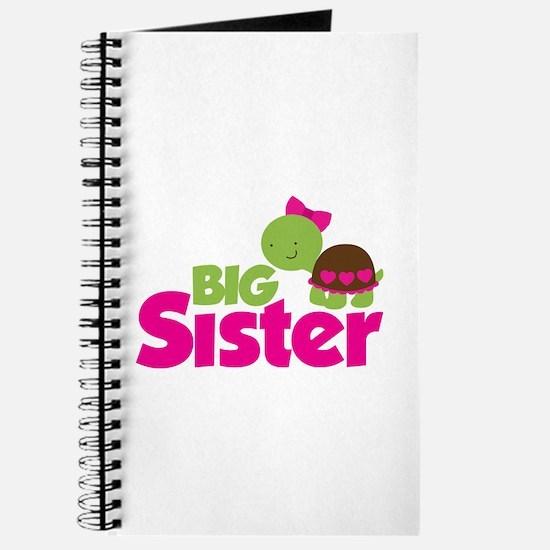 Girl Turtle Big Sister Journal