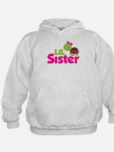 Girl Turtle Little Sister Hoodie