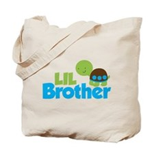 Boy Turtle Little Brother Tote Bag