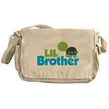 Boy Turtle Little Brother Messenger Bag