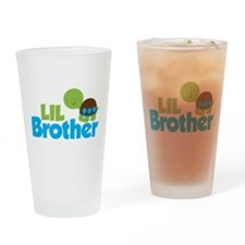 Boy Turtle Little Brother Drinking Glass