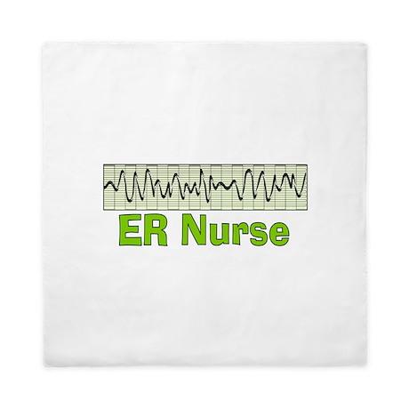 ER Nurse 2.PNG Queen Duvet