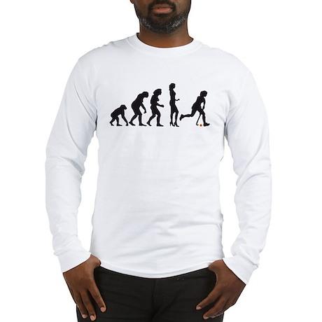 evolution hockey woman Long Sleeve T-Shirt
