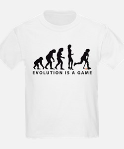 Evolution Hockey Woman B 2c.png T-Shirt