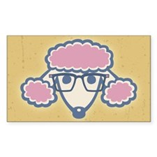 Poodle Nerd Decal