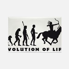 Evolution Indianer B.png Rectangle Magnet