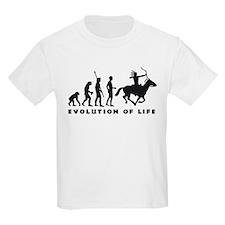 Evolution Indianer B.png T-Shirt