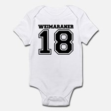 Weimaraner SPORT Infant Bodysuit