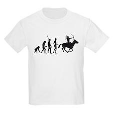 Evolution Indianer.png T-Shirt