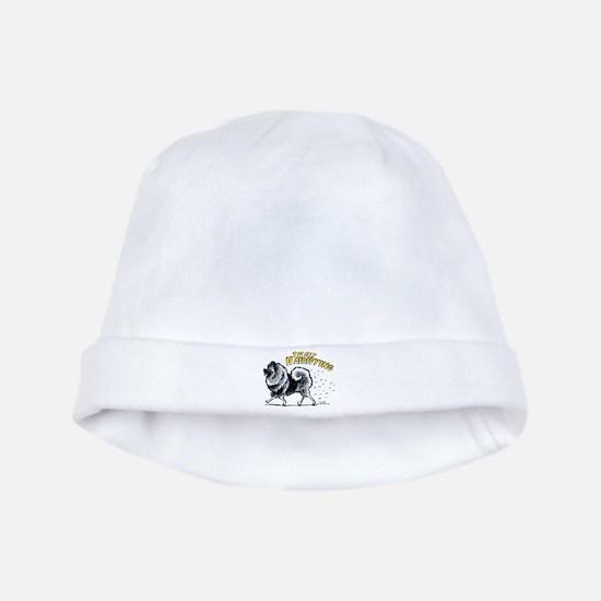 Keeshond Hairifying baby hat