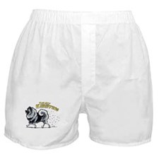 Keeshond Hairifying Boxer Shorts