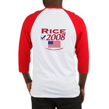 Condi Rice 2008 Gear Baseball Jersey
