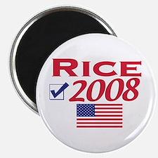 Condi Rice 2008 Gear Magnet