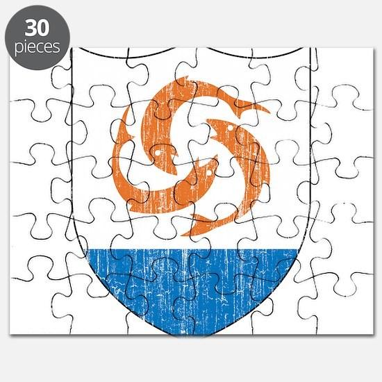 Anguilla Coat Of Arms Puzzle