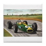 Jim Clark, Tile Coaster